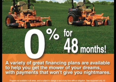 Scag Mower 0% Interest