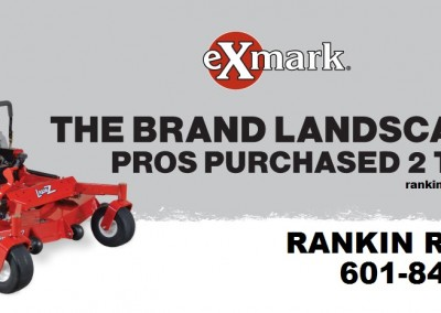 eXmark zero-turn mowers brandon
